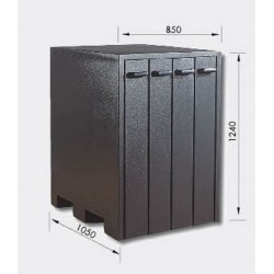 ARMARIO 54004 (4 CAJONES), PARA PROMECAM