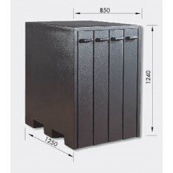 ARMARIO 54004/AS/1 (4 CAJONES), PARA SPEED-TRUMPF