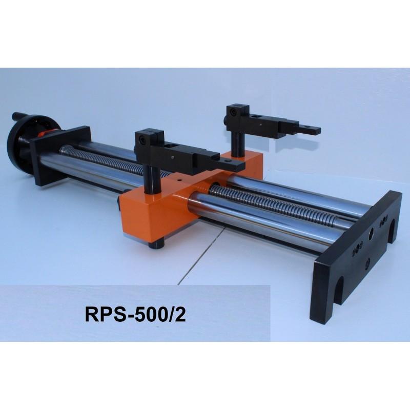 Tope Manual trasero de plegadora RPS-500/2
