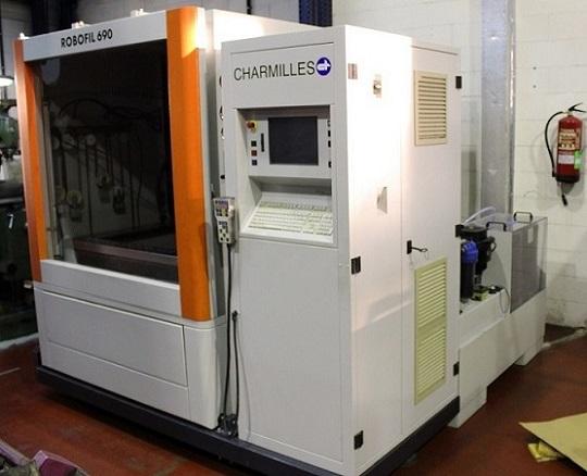 New electroerosion (EDM) machine in Metalmaq