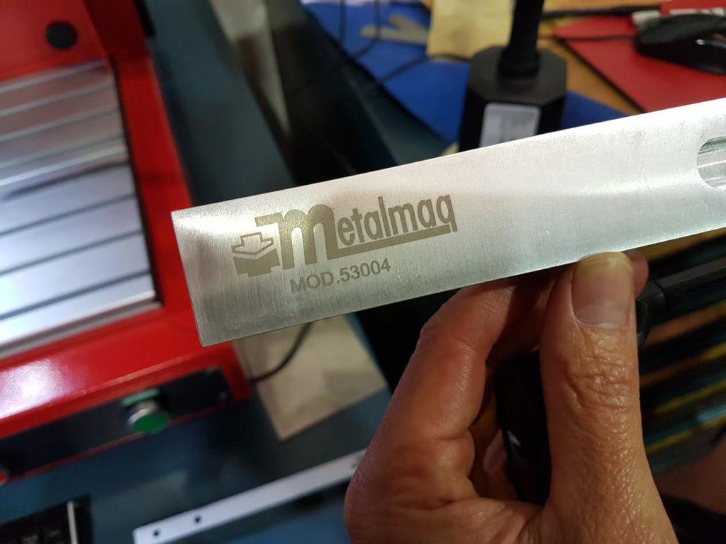 Servicio post-venta de marcado láser en Metalmaq