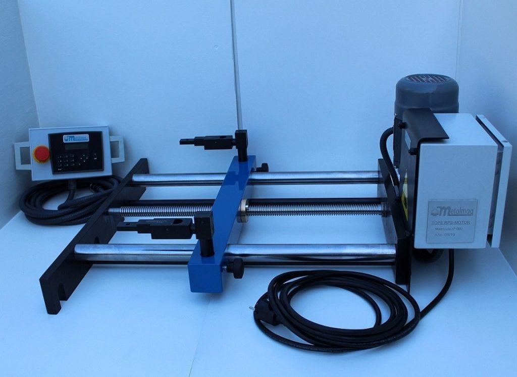 Tope Trasero Eléctrico RPS-500/MOTOR para plegadora de chapa
