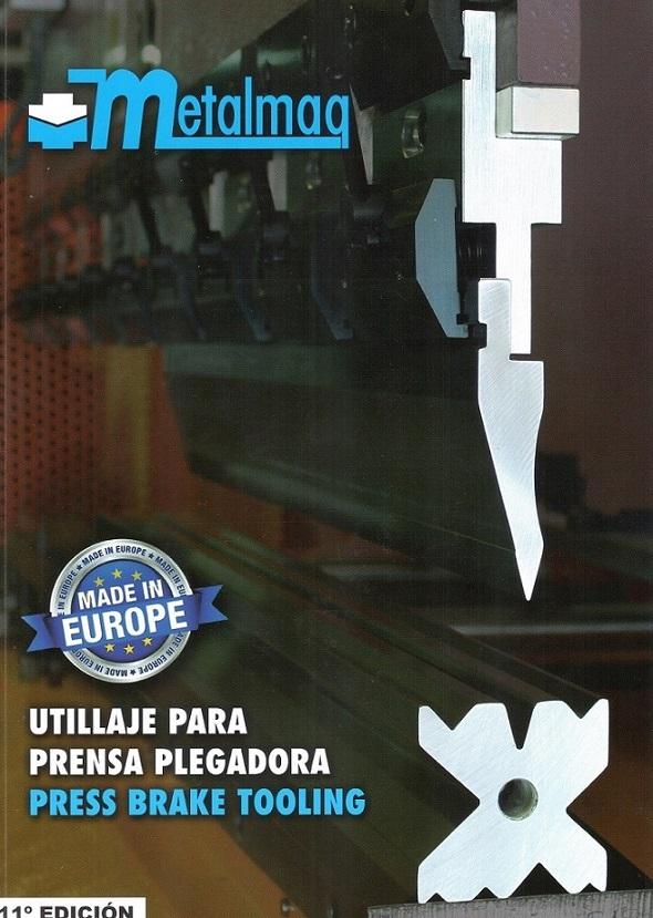 Portada Catálogo 11 Edición de METALMAQ